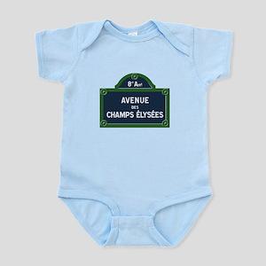 Avenue des Champs Elysees street sign Body Suit