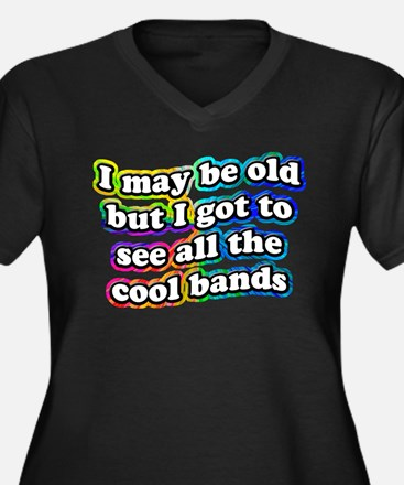 All The Cool Bands Plus Size T-Shirt