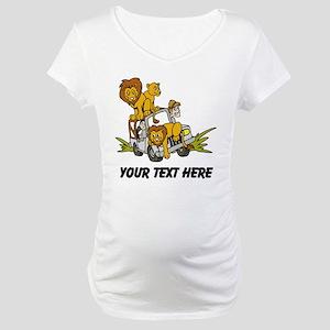 Safari Maternity T-Shirt