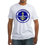 USS Oglethorpe (AKA 100) Fitted T-Shirt