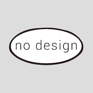 no design (black) Patch