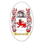 Ogilwy Sticker (Oval 10 pk)
