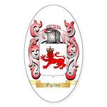 Ogilwy Sticker (Oval 50 pk)