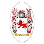 Ogilvy Sticker (Oval 10 pk)