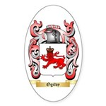 Ogilvy Sticker (Oval 50 pk)