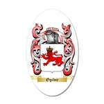 Ogilvie 20x12 Oval Wall Decal