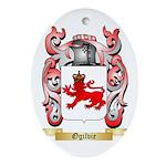 Ogilvie Oval Ornament