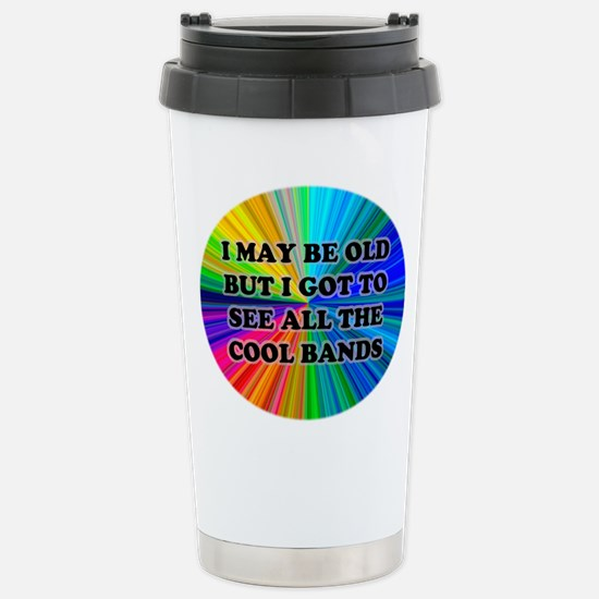 All The Cool Bands Stainless Steel Travel Mug