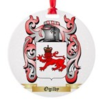 Ogilby Round Ornament