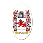 Ogilby 20x12 Oval Wall Decal