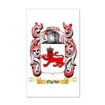 Ogilby 35x21 Wall Decal