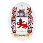 Ogilby Oval Ornament