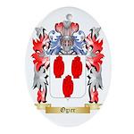 Ogier Oval Ornament
