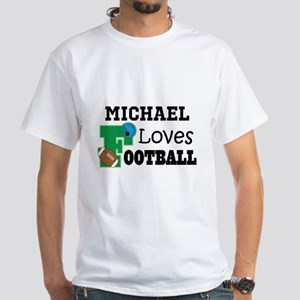 Football Personalized Sports Gifts T-Shirt