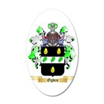 Ogden 35x21 Oval Wall Decal