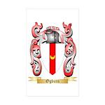 Ogburn Sticker (Rectangle 50 pk)