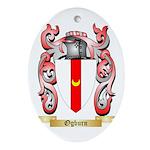 Ogburn Oval Ornament