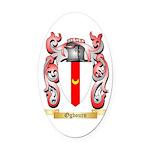 Ogbourn Oval Car Magnet