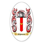 Ogbourn Sticker (Oval 10 pk)