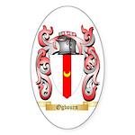 Ogbourn Sticker (Oval 50 pk)