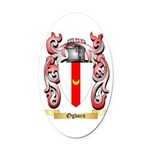 Ogborn Oval Car Magnet