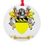 Ogan Round Ornament