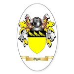 Ogan Sticker (Oval 50 pk)