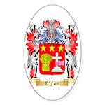 O'Friel Sticker (Oval 50 pk)