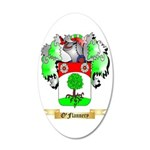 O'Flannery 35x21 Oval Wall Decal