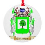 O'Flanagan Round Ornament
