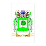 O'Flanagan Sticker (Rectangle 50 pk)