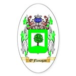 O'Flanagan Sticker (Oval)