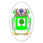 O'Flanagan Sticker (Oval 50 pk)