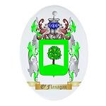 O'Flanagan Oval Ornament