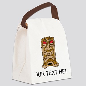Tiki Idol Canvas Lunch Bag