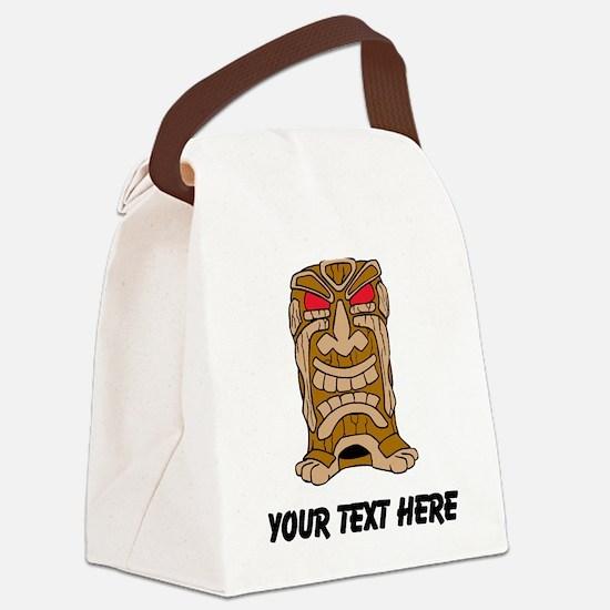 Tiki Idol Canvas Lunch Bag