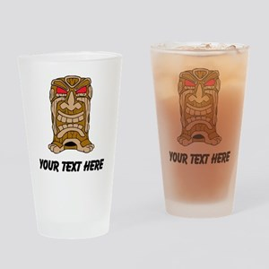 Tiki Idol Drinking Glass