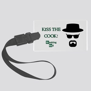 BREAKINGBAD KISS THE COOK Large Luggage Tag