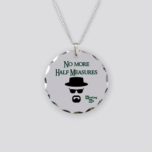BREAKINGBAD HALF MEASURES Necklace Circle Charm