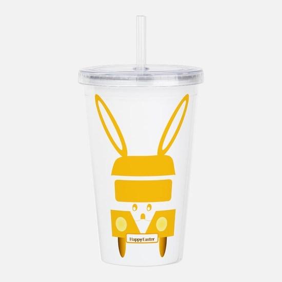 Easter Bunny Mobile Acrylic Double-wall Tumbler