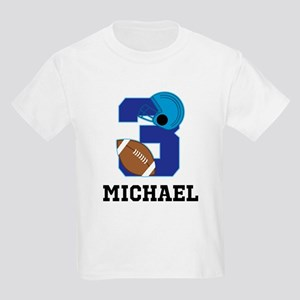 Football 3rd Birthday Personalized T-Shirt