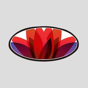 Lotus flower petals Patch