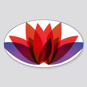 Lotus flower petals Sticker