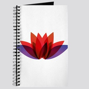 Lotus flower petals Journal