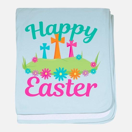 Happy Easter baby blanket