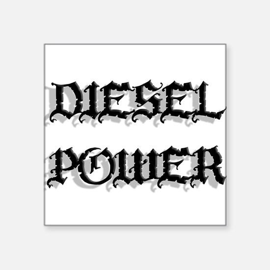 Diesel Power Sticker