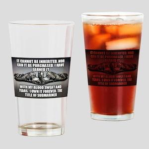 Bernie Ward Drinking Glass