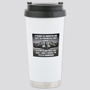 Bernie Ward Stainless Steel Travel Mug