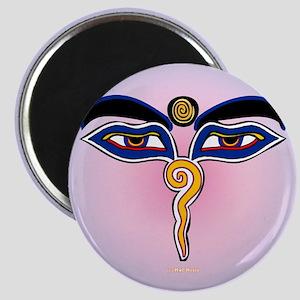 Buddha Eyes 2 Magnet