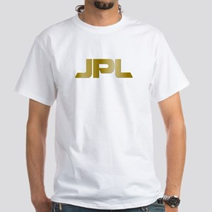 NASA's JPL @ 50 White T-Shirt